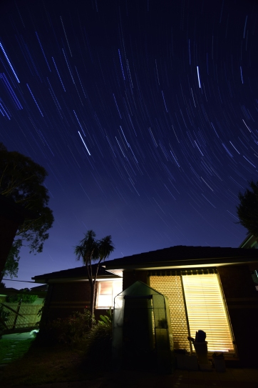 Midnight Star Trail