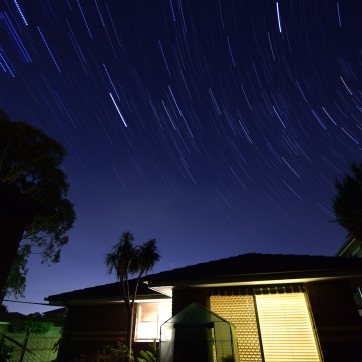 Midnight Star Trail